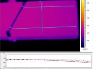 Термография радиатора светильника