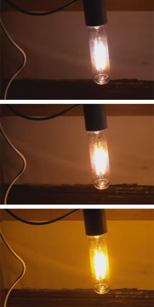 Розжиг лампы ДНаТ
