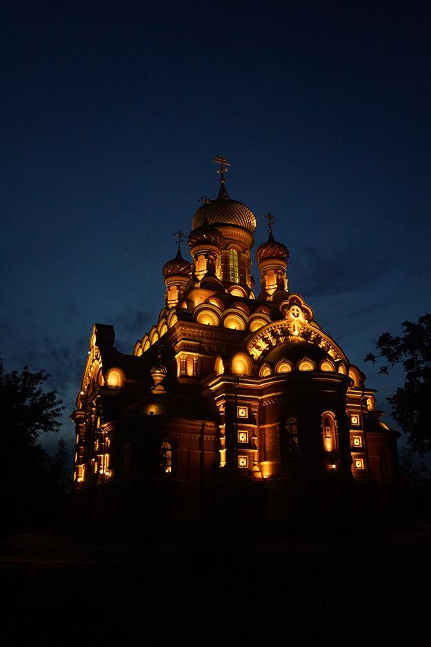Проект освещения храма Иоанно-Предтеченской обители в Астрахани