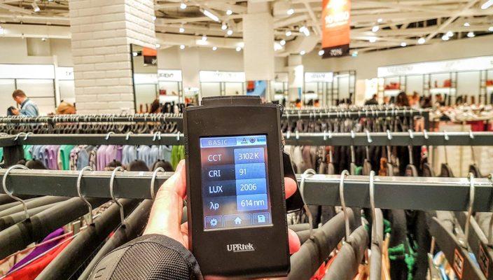 Освещение ЦУМ-Дисконтов: новые магазины получили революционный свет