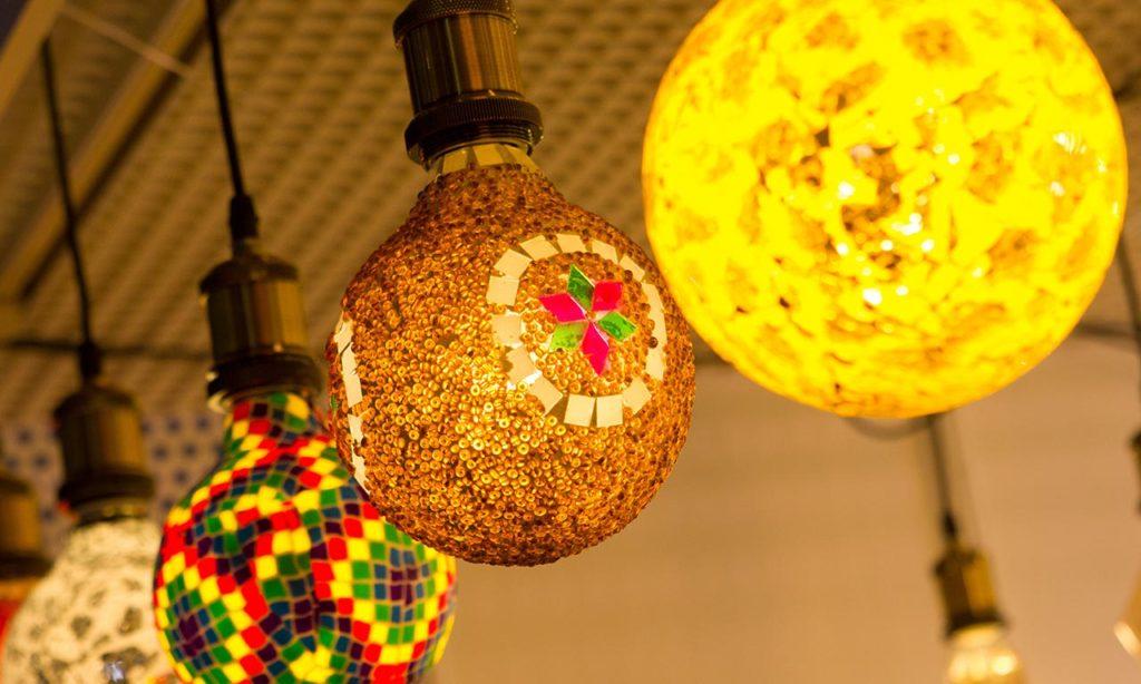 Дизайнерские филаментные лампы