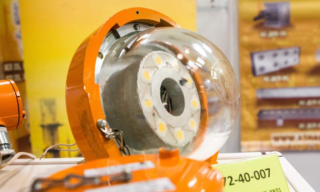 Взрывозащищенные светильники на выставке Интерлайт 2016
