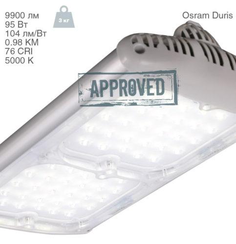 LuxON Bat 100W-ECO: много света за мало денег. Обзор светодиодного уличного светильника