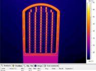 Термография оптической части NEOJ2020-90w со снятым защитным стеклом
