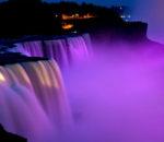 Освещение Ниагарского водопада
