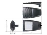 Чертежные виды GALAD Урбан М LED-75-ШБ1/У50