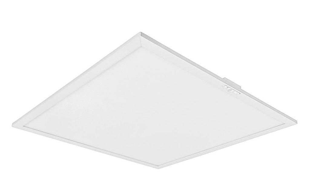 Внешний вид светильника SMART со встроенными датчиками для установки в потолки типа Армстронг
