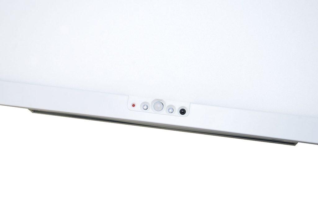 Пример светильника со встроенными датчиками в корпус