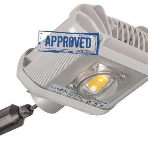 LuxON LED UniLED ECO-MS 35W: результаты испытаний светодиодного уличного светильника