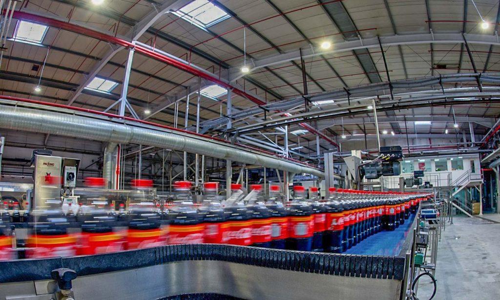 Освещение производства Coca-Cola HBC: новый реализованный проект Philips Lighting
