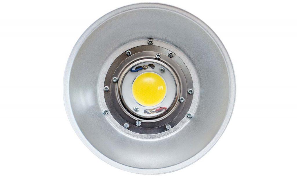 Вид со стороны оптической части светильника ПромЛед ПРОФИ v2.0-110 Cree