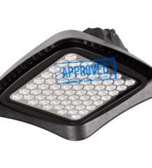 Испытания светодиодного промышленного светильника FD 112 200W (5000K, 90гр) от FAROS LED, октябрь 2020