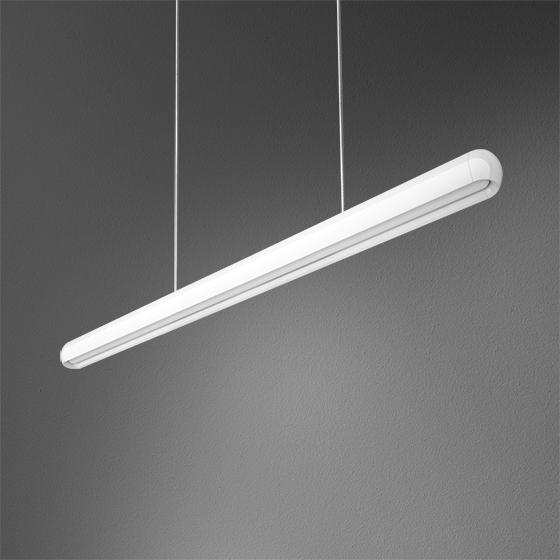 Трудно поверить, но в очень тонком корпусе светильника EQUILIBRA FLUO установлены не светодиоды, а современные люминесцентные лампы