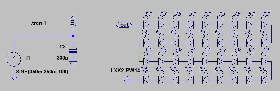 Рисунок 2. Заготовка модели для LTspice