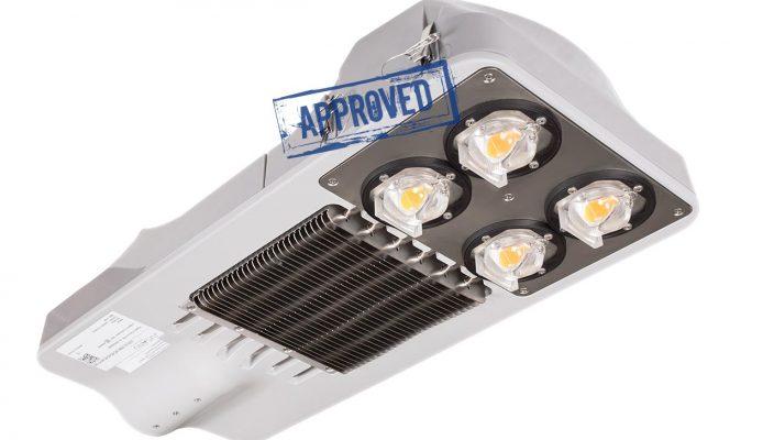 Испытания светодиодного уличного светильника JLED-SL-100W от Juganu Ltd. (Израиль)