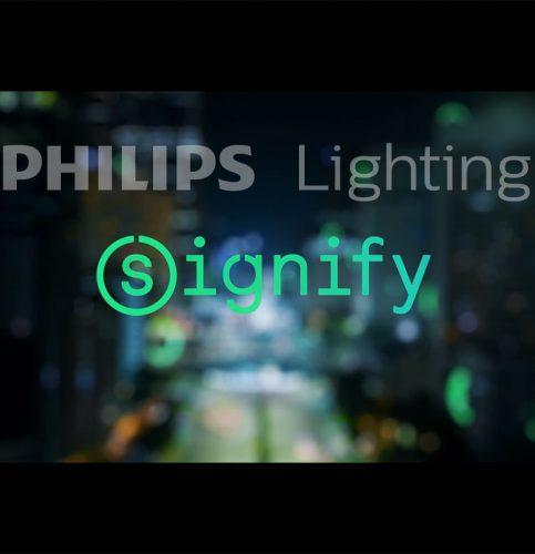 Компания Philips Lighting сменит название на Signify, но продолжит выпускать продукцию под брендом Philips