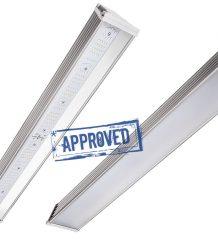 Результаты испытаний промышленного светильника LED Promline 100W от LuxON