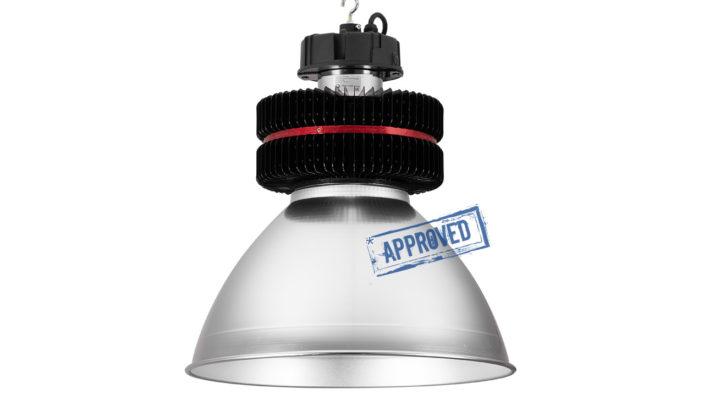 ET-CC-05-200 — испытания светодиодного промышленного светильника от компании «ЭКО технологии», г. Первоуральск, сентябрь 2019