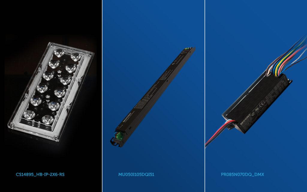 Компания Планар предлагает комплекты из светодионых модулей, вторичной оптики и источников тока для светильников архитектурно-декоративного освещения