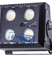 ATLAS 100 — испытания светодиодной фары рабочего света от Аксиома Электрика, октябрь 2018