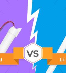 Ni-Cd vs. Li-Ion в аварийном освещении: противостояние или разумная альтернатива?
