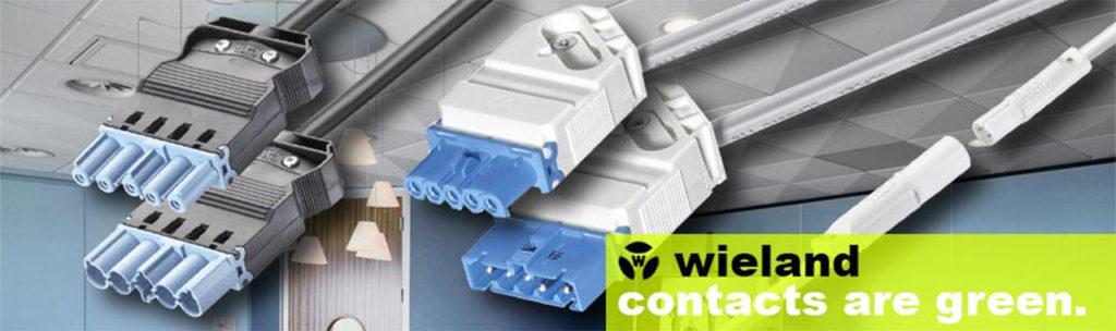 Wieland Electric — высокозащищенные электротехнические разъемы и соединители для применения в составе светотехнического оборудования.
