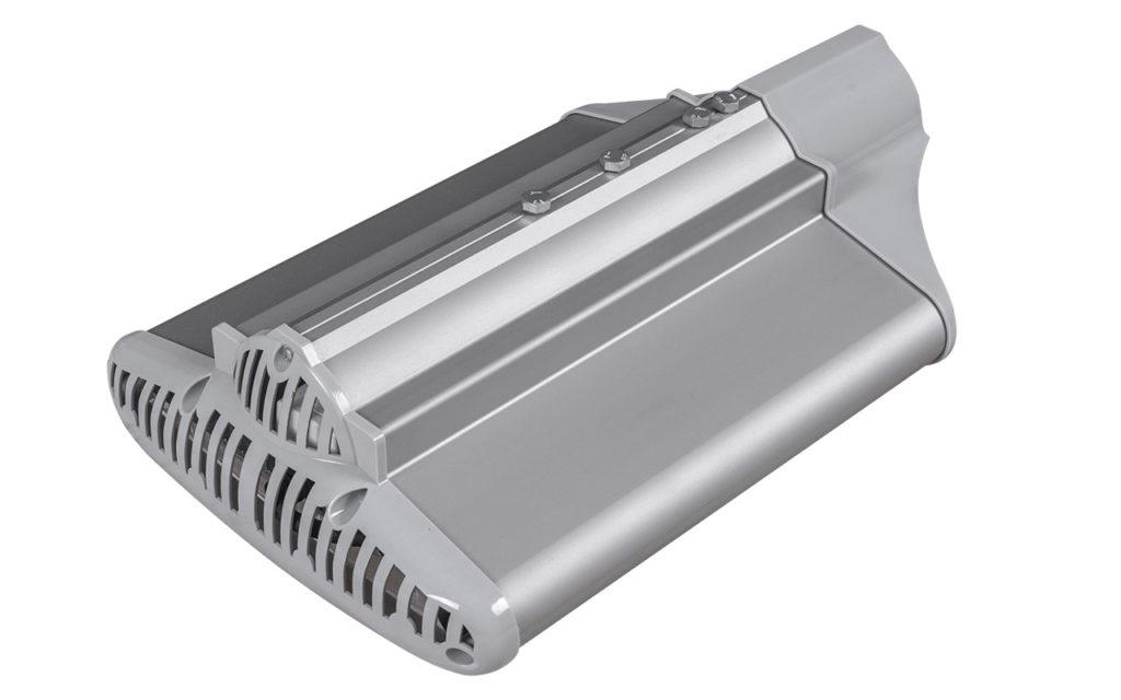Вид светильника LED Bat 80W-ECO с тыльной стороны