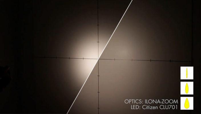Новые линзы ILONA-ZOOM от LEDIL c изменяемой КСС