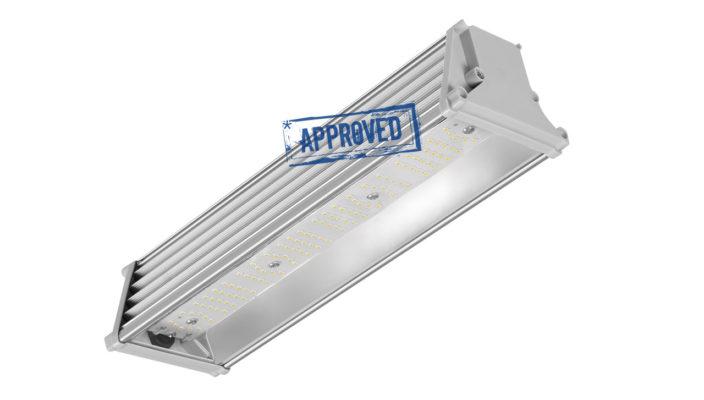 Испытания универсального светодиодного светильника LED Promline 50W-LUX от LuxON — июль 2019 года