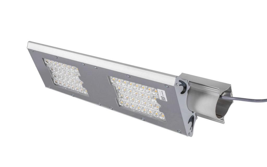 Общий вид светильника I-SBERG ISI-100-D-2LA EFFECT ESCO со стороны консольного крепления
