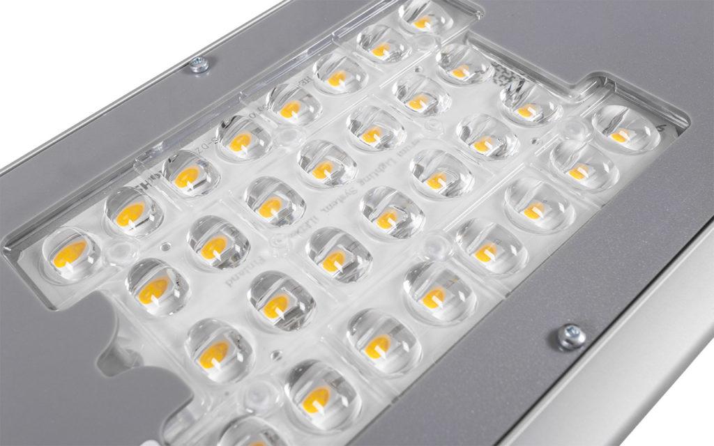 Оптический блок светильника I-SBERG ISI-100-D-2LA EFFECT ESCO крупным планом
