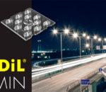Новые ультрадешевые линзы Vimin-12 от LEDIL с уличными КСС