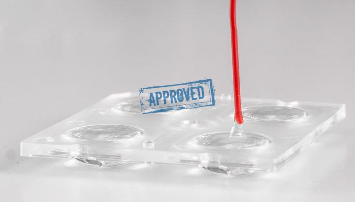 Оптика с адаптивным силиконом с КПД 102%