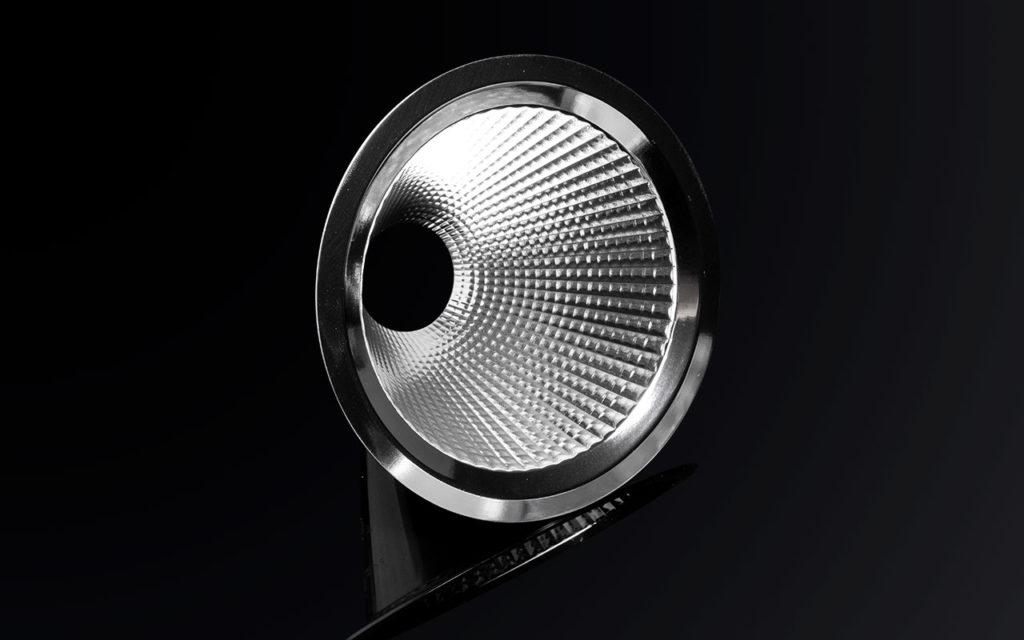 Новый алюминиевый рефлектор для COB — ALISE-110-W от LEDIL