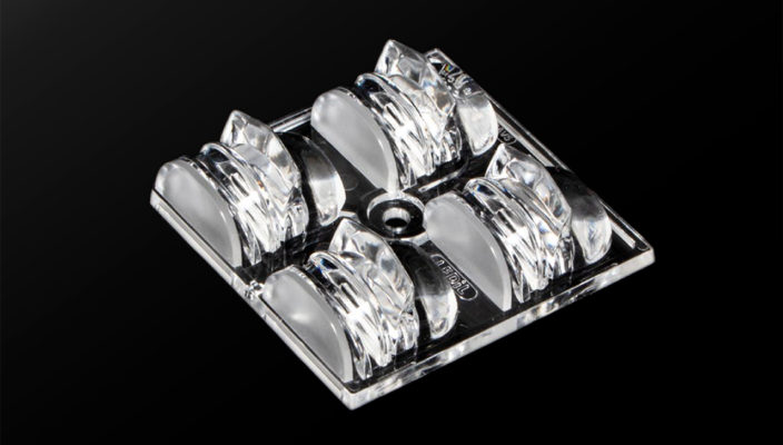 SPORT-2X2-FT60 от LEDIL — новая групповая линза для спортивного освещения