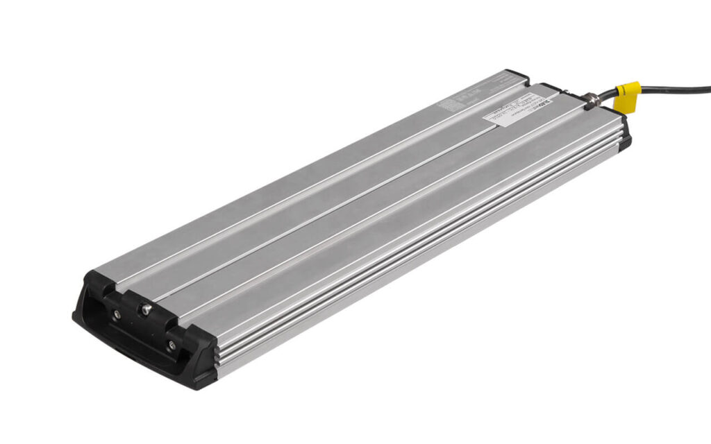 Вид светильника Geniled Optimus 3Mx1L 60Вт 5000К Ш с тыльной стороны