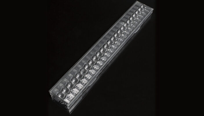 LINNEA-GC2-60 — новая экструдированная линза от Ledil для освещения офисов, магазинов и складов