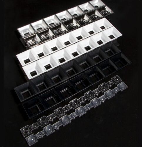 DAISY-7X1-WW-D — новые линзы от LEDIL для офисных и интерьерных светильников