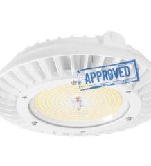Испытания светодиодного промышленного светильника Geniled Kolokol 150Вт 5000K 70Ra, апрель 2021