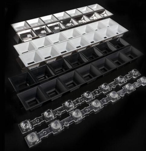 DAISY-7X1-M — новые линзы от LEDIL для офисных и интерьерных светильников